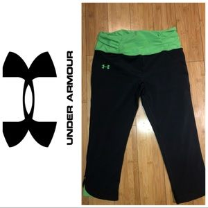 Under armour heat gear athletic capris